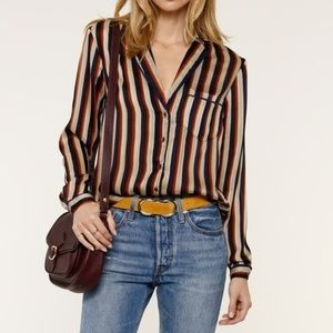 Heartloom Benny Striped Blouse